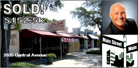 SOLD! $152,500 – 2635 Central Ave., St. Petersburg Florida