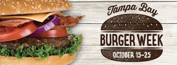 Celebrate Tampa Bay Burger Week – October 15 – 25